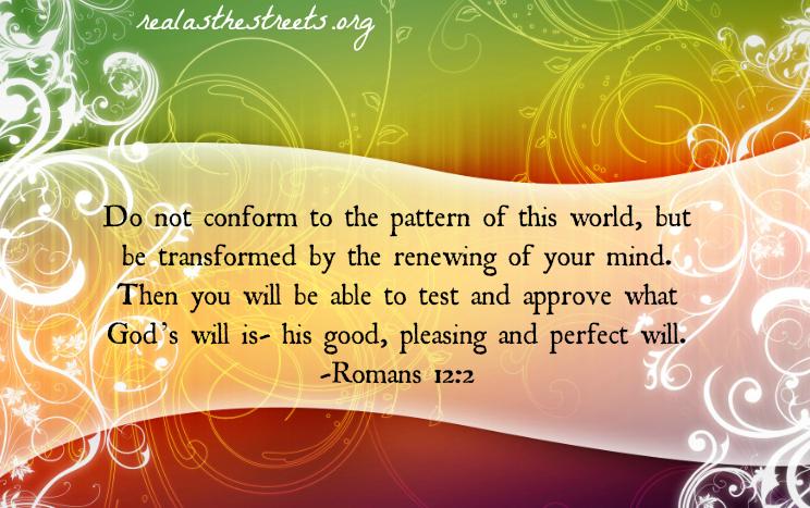 rainbow swirls with romans 12:2